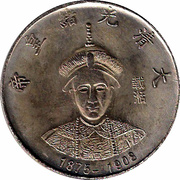 Token - Qing Dynasty Emperors (Guangxu, 1875-1908) – obverse