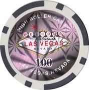 100 Dollars - High Roller Casino (Las Vegas) – reverse