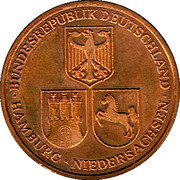 Token - Hamburg (Opening of the Elbe Side Channel) – reverse
