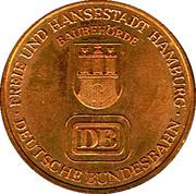 Token - Hamburg (10 years jubilee of the Hamburg traffic network) – reverse