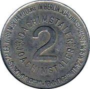 2 Joachimstaler (Berlin) – reverse