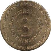 3 Joachimstaler (Berlin) – reverse