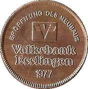 Token - Volksbank Esslingen – reverse