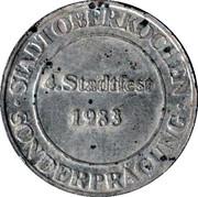 Oberkochen Stadtfest 1983 – obverse