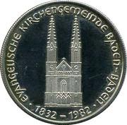 150 Jahre Evangelische Kirchengemeinde Baden-Baden 1982 – obverse