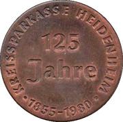 Token - Sparkasse Heidenheim (Copper issue) – reverse