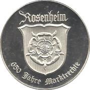 Token - Rosenheim (650 Jahre Marktrechte) – obverse