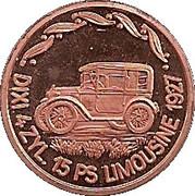 Token - 100 Jahre Deutsche Automobilgeschichte (Dixi 1927) – obverse
