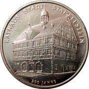 Rathaus Stadt Staffelstein 300 Jahre – obverse