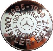 Token - 100 Jahre Daimler-Benz – obverse