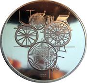 Token - 100 Jahre Daimler-Benz – reverse