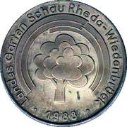 Landes Garten Shau Wiedenbrück – obverse