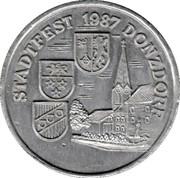 Token - Stadtfest 1987 Donsdorf – obverse