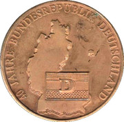 Token - Fall of the Berlin Wall – obverse