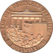 Token - Fall of the Berlin Wall – reverse