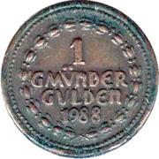 1 Gmünder Gulden (Schwäbisch Gmünd) – reverse