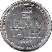 1 Trimm Taler – reverse
