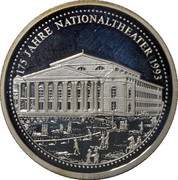 Token - 175 years of Munchen National Theater – obverse