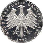 Token - Bundesrepublik Deutschland (Konrad Adenauer 25th Death Anniversary) -  reverse