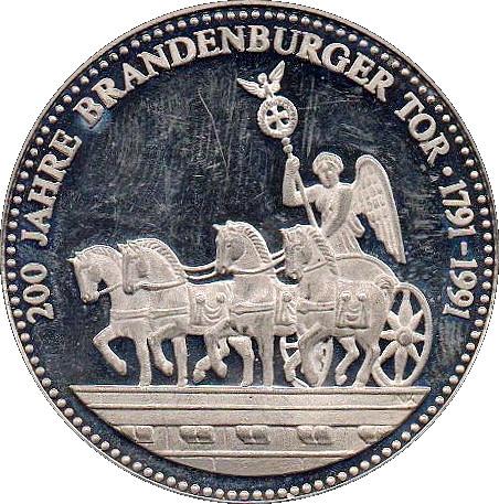 Token Deutschland Einigkeit Recht Freiheit 200 Jahre