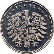 Token - Deutschland (Wernher Von Braun) – reverse