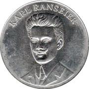 Karl Ranseier Token – obverse
