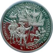 ENTDECKUNG AMERIKAS 1492 – reverse