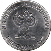 Token - FIFA Fußball-WM 2006 Deutschland (Schweden) – reverse