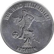 Token - FIFA Fußball-WM 2006 Deutschland (Kroatien) – obverse
