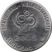 Token - FIFA Fußball-WM 2006 Deutschland (Kroatien) – reverse