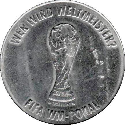 Token Fifa Fussball Wm 2006 Deutschland Fifa Wm Pokal