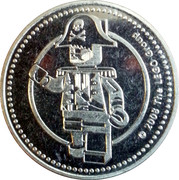 Token - Legoland Germany (Pirate) – reverse