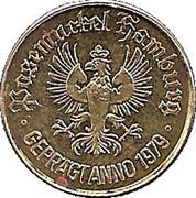 0.5 Taler - Posemuckel Hamburg – obverse