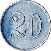 20 Pfennig - Seitz Knödler – reverse