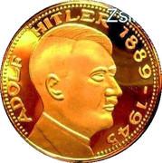 """Token - Adolf Hitler (""""Copy"""") – obverse"""