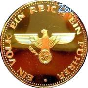 """Adolf Hitler token (""""Copy"""") – reverse"""