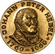 1 Kreuzer - Johann Peter Hebel – reverse