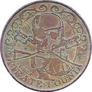 10 Pirate Pound Simba (Steering Wheel) – obverse