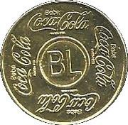 Vending Machine Token - Coca-Cola (BL - Belém, Pará) – obverse
