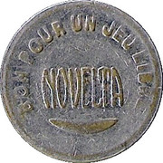 Game Token - Novelta – obverse