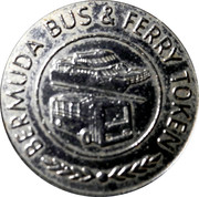 Bermuda Bus and Ferry Token - 3 Zones – reverse
