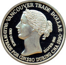 20 Dollars / Vancouver Trade Dollar – obverse