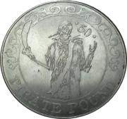 50 Pirate Pound Simba – reverse