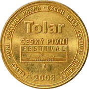 Tolar - Czech Beer Festival (Prague) – obverse