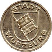 Public Swimming Pool Token - Würzburg (youth) – obverse