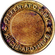 Gründau Taler - Falken Apotheke & Kinzig Apotheke (Gründau) – reverse