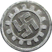 20 Pfennig DAF – obverse