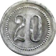 20 Pfennig DAF – reverse