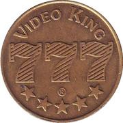 Arcade Token - Video King 777 – obverse