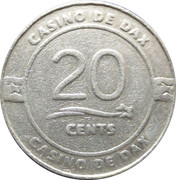 20 Cents - Casino De Dax – obverse